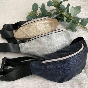 Handbags - Shimmery Fanny Packs